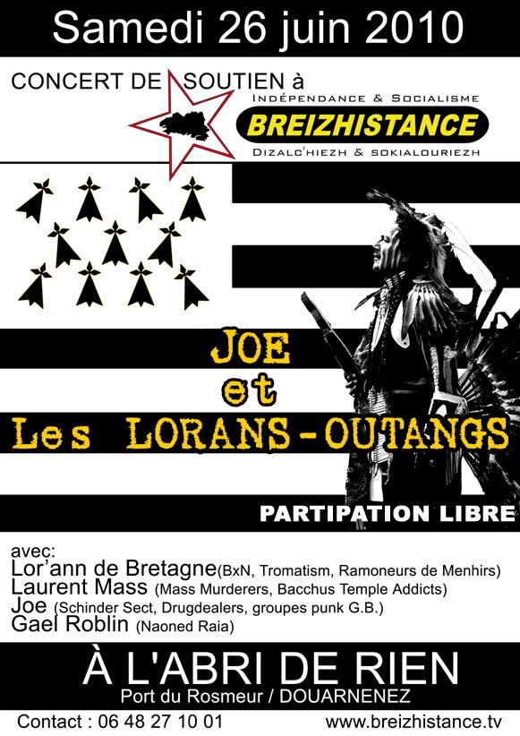 Concert de soutien à Breizhistance Douarnenez le 26 juin !