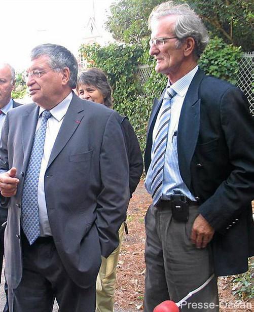 J Auxiette, président région PdL, et Joel Batteaux