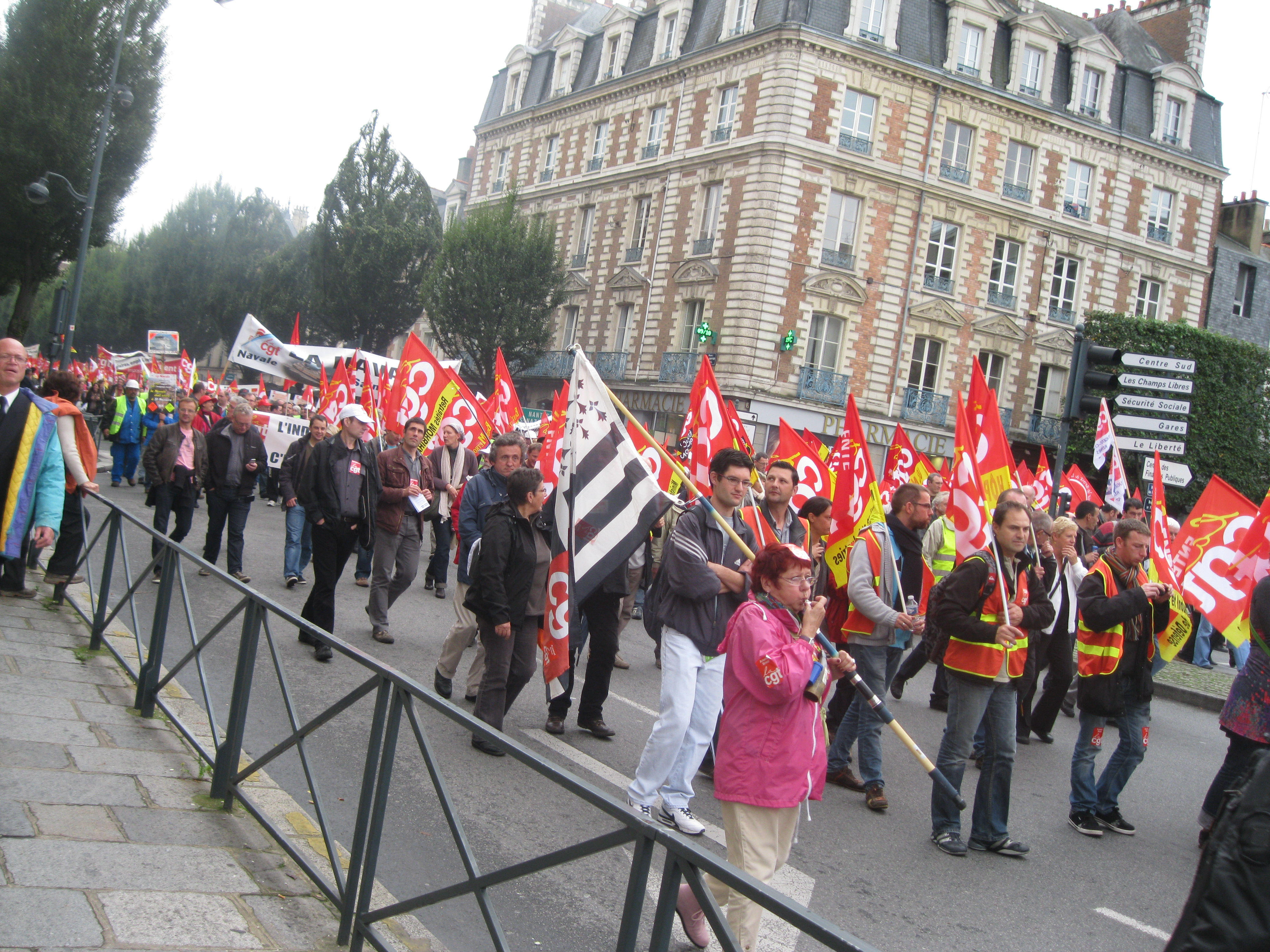 4000 personnes pour l'emploi à Rennes