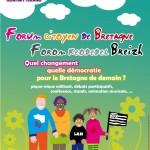 """Présentation de la plateforme """"libérons les énergies en Bretagne"""". Forum citoyen de Bretagne à Nantes le 15 juin."""