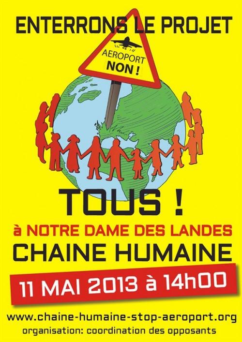 NDL : Un rempart humain contre les bulldozers de Vinci et de l'Etat Français