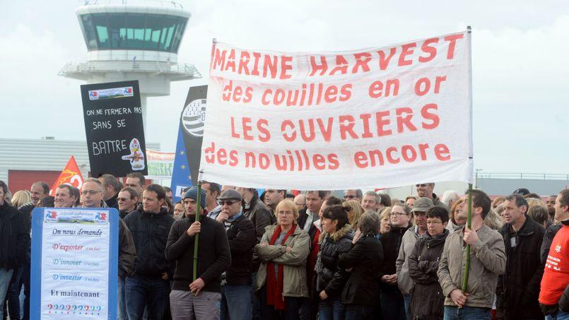 FRANCE-AGROFOOD-SOCIAL-JOBS-DEMONSTRATION