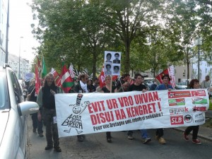 "Manifestation"" Résistance en Bretagne"". Nantes.2011"