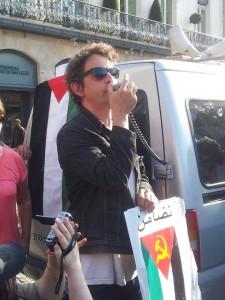 Gael ROBLIN (Gauche Indépendantiste Bretonne) @crédit Bretagne-Info