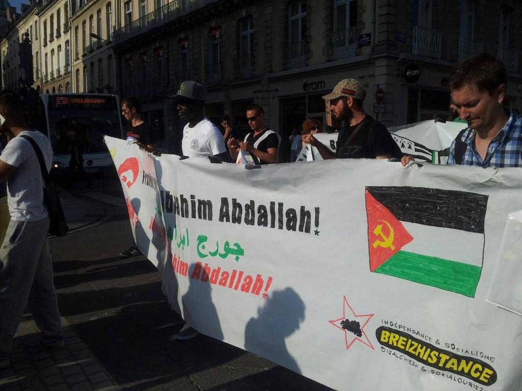 Libérez Georges Ibrahim Abdallah  ! @Crédit Bretgane-Info