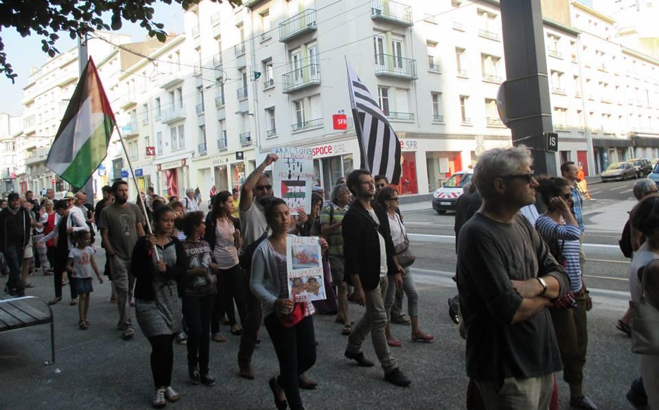 Brest soutient Gaza !