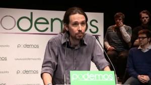 Pablo Iglesias leader de Podemos