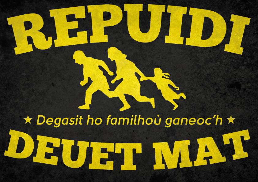 Repuidi_Deuet_Mat_Refugees_Welcome_Pegsun_Autocollant