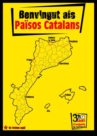 Tachenn ar broioù katalan hervez an dizalc'hourien