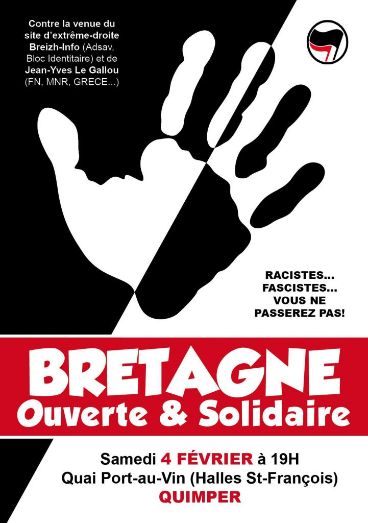 BRETAGNE_INFO_Manifestation_Antifasciste_Antiraciste_Quimper_Kemper