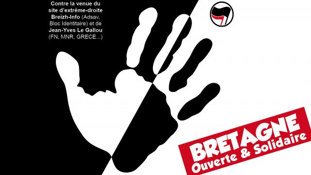UNE_Bretagne_Info_Bretagne_Ouverte_Solidaire_Manifestation_Antifasciste_Antiraciste