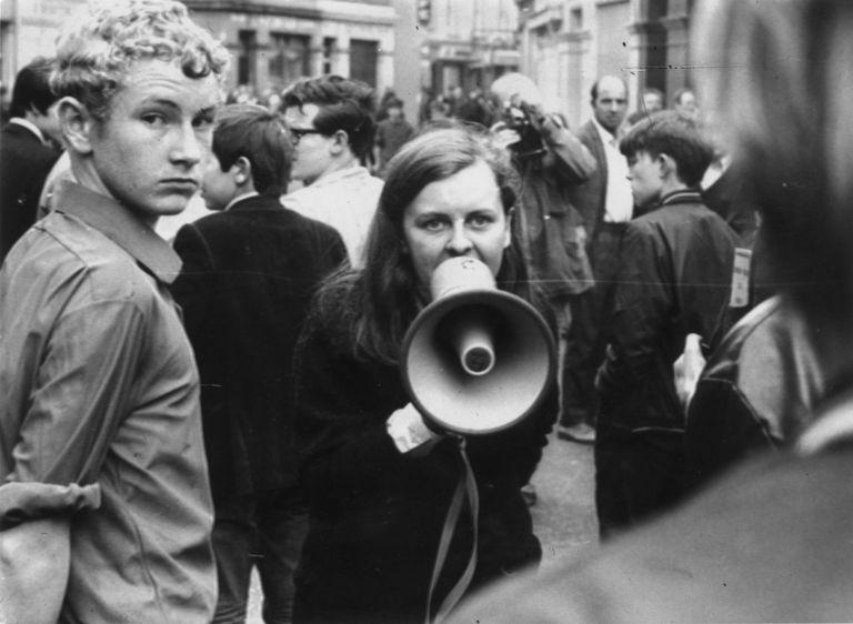 Bernadette Devlin MacAliskey dans les années 70