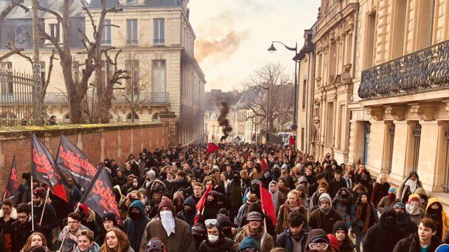 Nantes: L'université en partie bloquée, des cours annulés jusqu'à vendredi